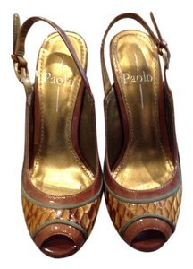 Paolo Caramel Sandals
