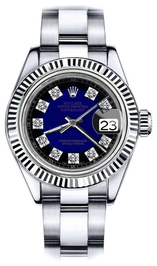 Preload https://img-static.tradesy.com/item/24087836/rolex-ladies-26mm-datejust-blue-vignette-color-dial-diamond-accent-sp-watch-0-1-540-540.jpg