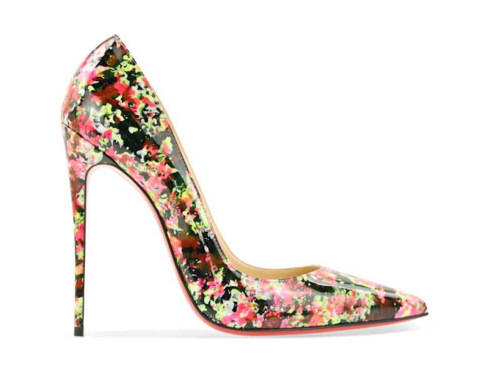 the latest beb4a 6dd15 Christian Louboutin Multicolor So Kate Floral Pumps Size EU 40 (Approx. US  10) Regular (M, B) 40% off retail