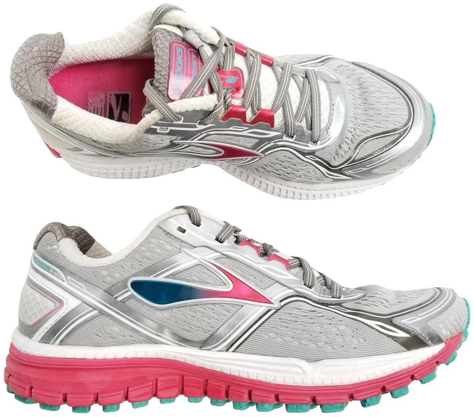 cbd99002df4 Brooks Silver Womens Ghost Edition Running Pink Blue Athl Sneakers. Size   US 8 Regular (M ...