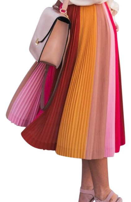 Item - Pink Pleated Skirt Size 0 (XS, 25)