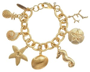 Lilly Pulitzer Lilly Pulitzer for Target Women's Charm Bracelet - Gold