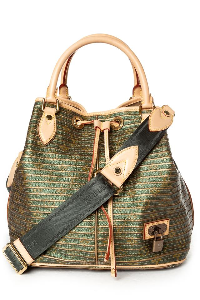 Louis vuitton neo eden metallic gold green leather shoulder bag jpg 640x960 Louis  vuitton neo eden 131e8491453fb
