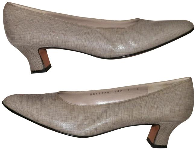Item - Beige Florence Made In Italy Leather Formal Shoes Size US 9 Regular (M, B)