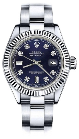 Preload https://img-static.tradesy.com/item/24088543/rolex-ladies-26mm-datejust-navy-blue-color-dial-with-82-diamond-watch-0-1-540-540.jpg