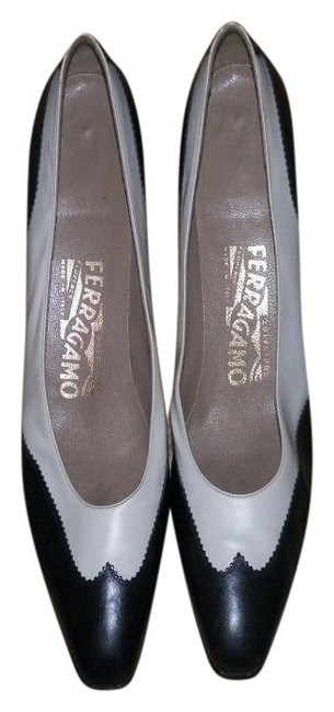 Item - Navy Blue /White Made In Italy Florence Collection And Formal Shoes Size US 9 Regular (M, B)