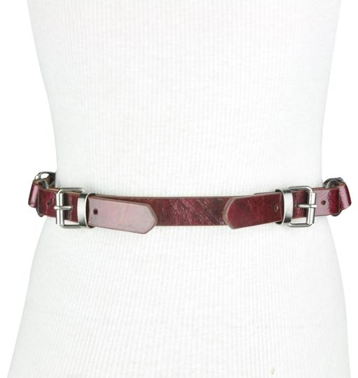 Preload https://img-static.tradesy.com/item/24088556/to-the-max-red-faux-leather-triple-buckle-belt-0-1-540-540.jpg