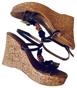 Chocolat Blu Brown Wedges
