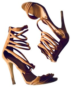 Public Desire Brown Pumps