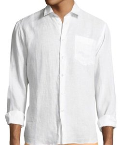 Vilebrequin Button Down Shirt White