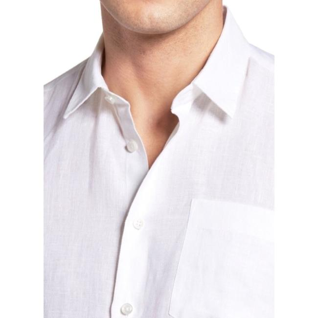 Vilebrequin Button Down Shirt White Image 1