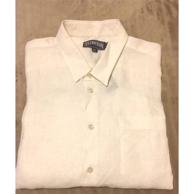 Vilebrequin Button Down Shirt White Image 3