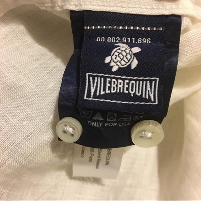 Vilebrequin Button Down Shirt White Image 7