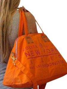 Tory Burch Tory Orange Travel Bag