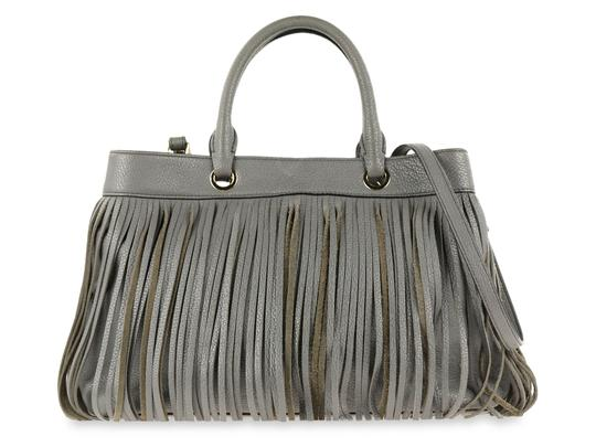 MILLY Satchel in Grey Image 0