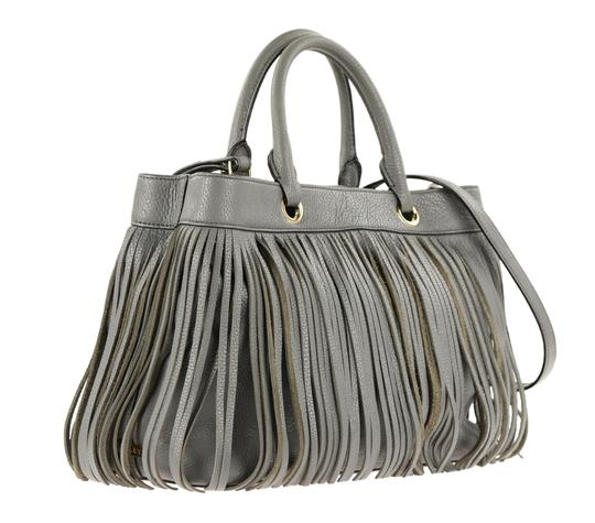 MILLY Satchel in Grey Image 1