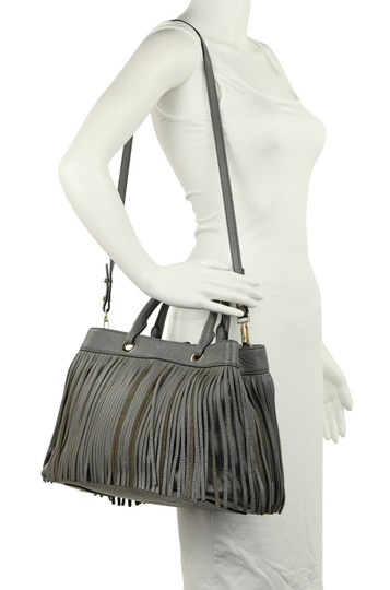 MILLY Satchel in Grey Image 11