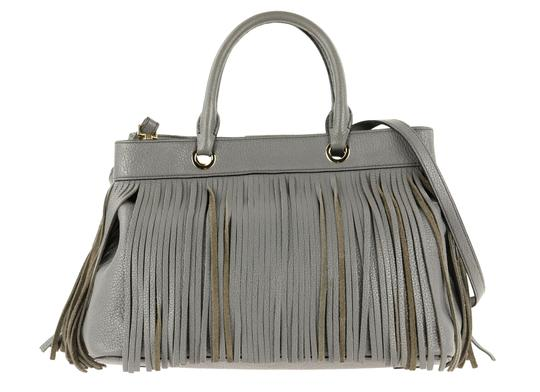 MILLY Satchel in Grey Image 2