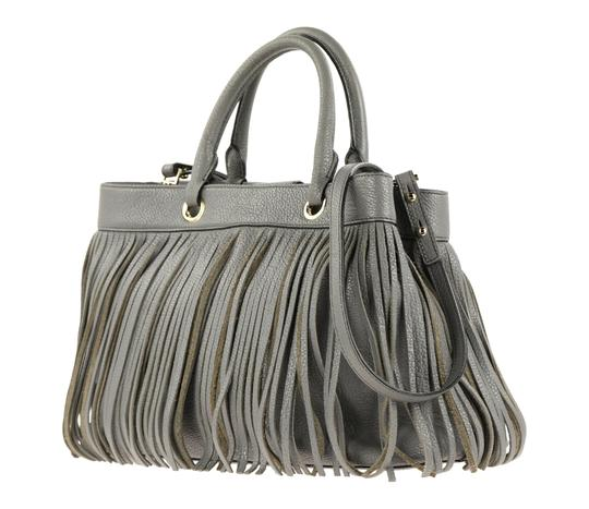 MILLY Satchel in Grey Image 3