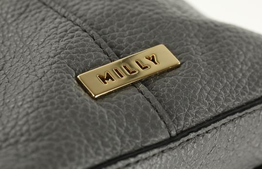 MILLY Satchel in Grey Image 7