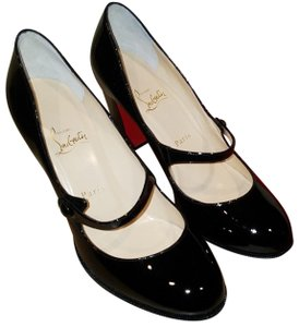 a8fe96bf2656 Christian Louboutin Black Patent Leather 3161136 Formal Shoes Size ...