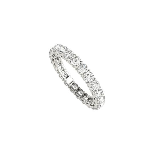 Preload https://img-static.tradesy.com/item/24089702/white-100-carat-cz-eternity-for-women-in-14k-gold-ring-0-0-540-540.jpg
