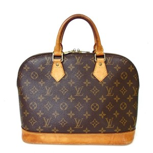 Louis Vuitton Alma Alma Alma Pm Monogram Satchel in Brown