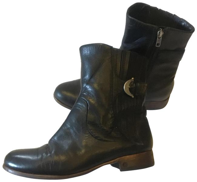 UGG Australia Blcak Leather Boots/Booties Size US 8 Regular (M, B) UGG Australia Blcak Leather Boots/Booties Size US 8 Regular (M, B) Image 1