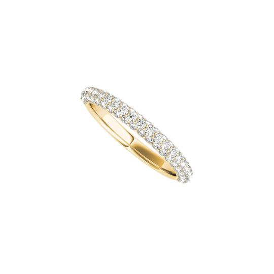 Preload https://img-static.tradesy.com/item/24090066/yellow-cubic-zirconia-simple-gold-wedding-band-in-gold-ring-0-0-540-540.jpg