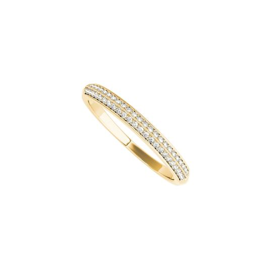 Preload https://img-static.tradesy.com/item/24090077/yellow-milgrain-edge-cz-wedding-band-for-women-14k-gold-ring-0-0-540-540.jpg