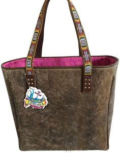Consuela Tote In Medium Dark Brown