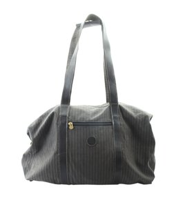 Fendi Canvas Multi-color Tote in Multi-ColorxGreyxBlack
