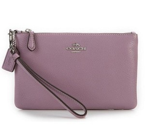 Coach Coach Pebble Leather Small Wristlet 22952