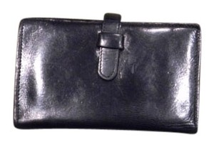 Coach Coach Black Leather credit card wallet