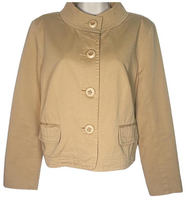 Item - Gold Weathered & Broken In Twill Jacket Size 8 (M)