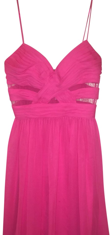 0e7fea5d0b827c Hailey Logan Hot Pink Party Short Formal Dress Size 6 (S) - Tradesy