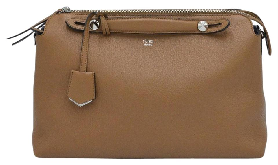 6dc9bd54 Fendi Medium By The Way Convertible Brown Calfskin Leather Satchel 47% off  retail