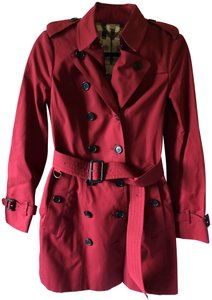 Burberry Midlength Redjacket Trench Coat