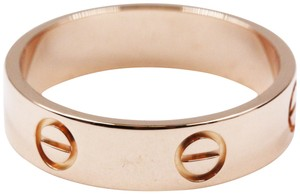Cartier Cartier Love Ring 18k Rose Gold