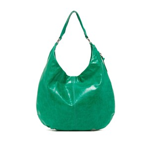 Hobo International Green Leather Hobo Bag