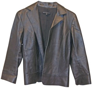 Parallel Leather Jacket