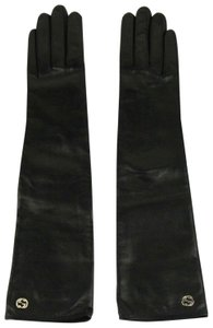 Gucci Leather Arm Length Gloves