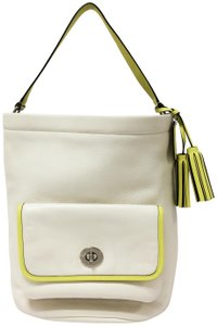 Coach Legacy 22407 Bucket Two Tone Shoulder Bag