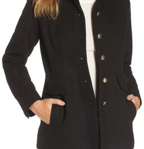 Vince Camuto Military Inspired Classic Pea Coat