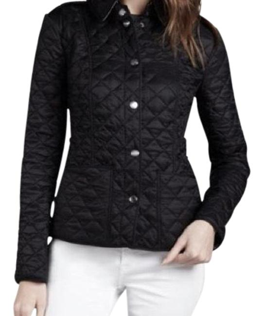 Item - Dark Brown Quilted Polyester Jacket Size 4 (S)