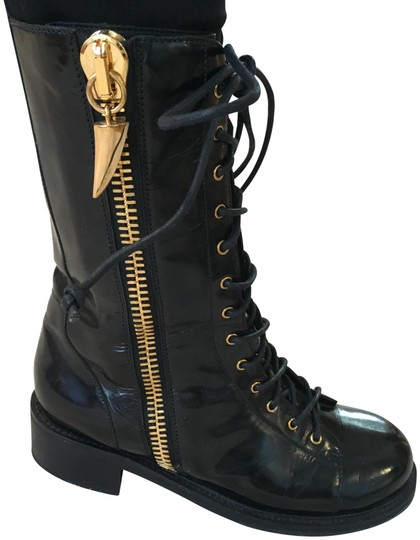 Preload https://img-static.tradesy.com/item/24092076/giuseppe-zanotti-black-patent-leather-combat-with-gold-hardware-bootsbooties-size-eu-39-approx-us-9-0-1-540-540.jpg
