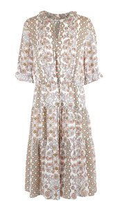 Multicolor Maxi Dress by Tory Burch