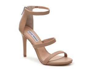 Steve Madden Heels Strappy Nude, Bone, blush Sandals
