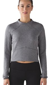 Lululemon Hill and Valley Mock Neck Crop Top