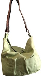 Tylie Malibu Unique Color Leather Embellished Strap Hobo Bag